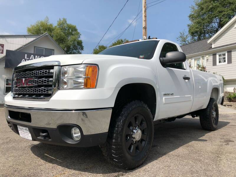 2013 GMC Sierra 2500HD for sale at Langlois Auto and Truck LLC in Kingston NH