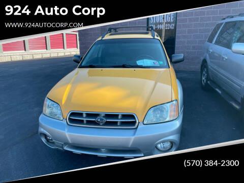 2004 Subaru Baja for sale at 924 Auto Corp in Sheppton PA