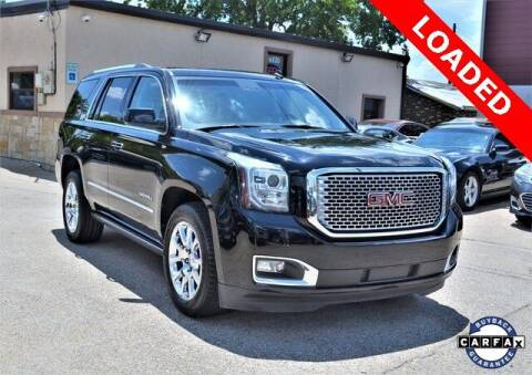 2015 GMC Yukon for sale at LAKESIDE MOTORS, INC. in Sachse TX