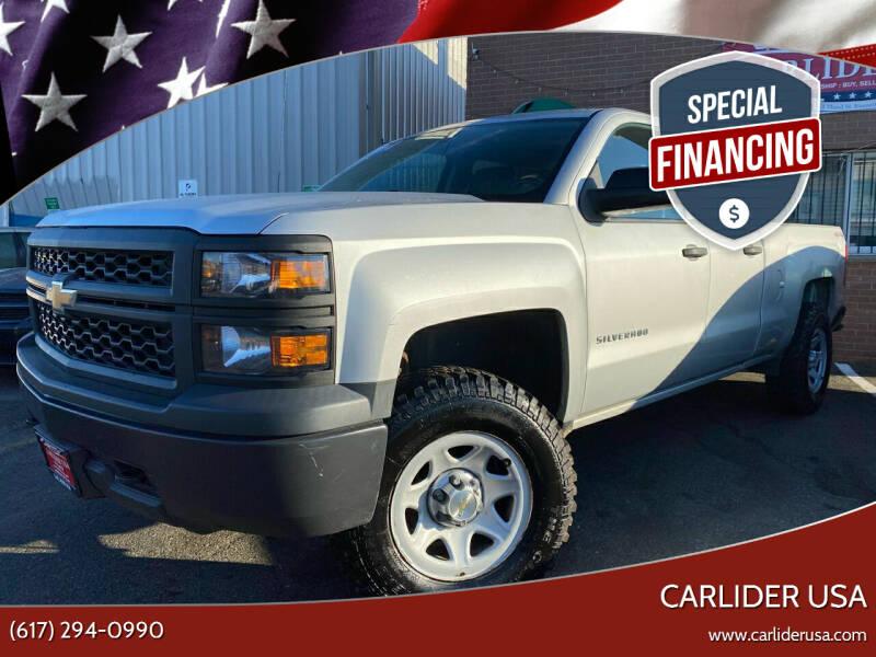 2014 Chevrolet Silverado 1500 for sale at Carlider USA in Everett MA