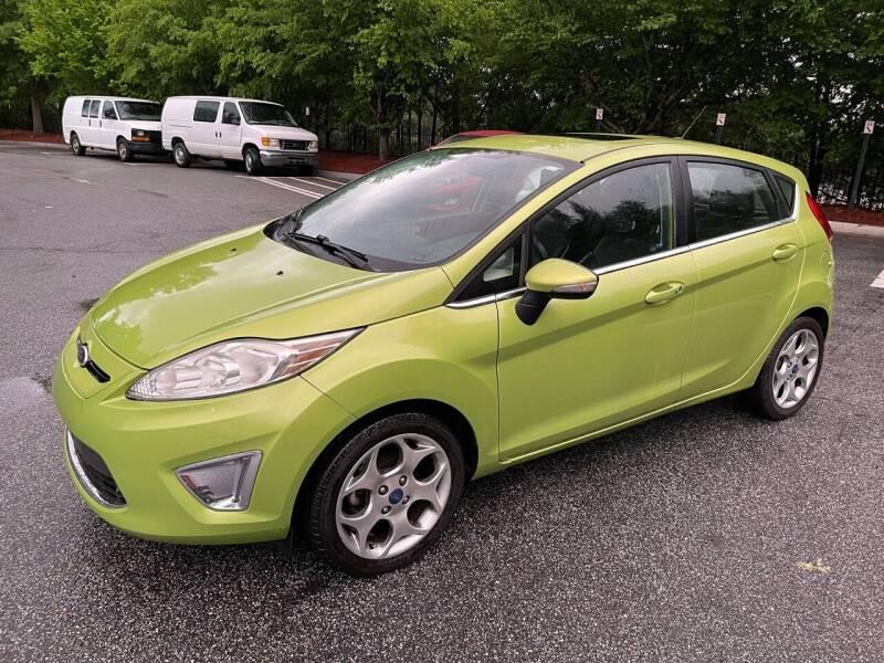 2012 Ford Fiesta for sale at MJ AUTO BROKER in Alpharetta GA