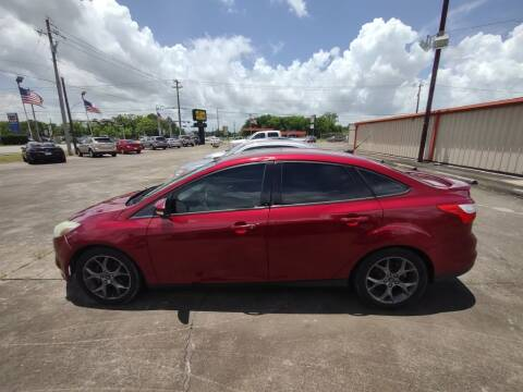 2013 Ford Focus for sale at BIG 7 USED CARS INC in League City TX