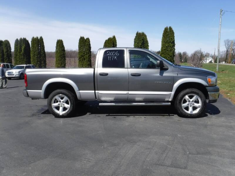 2006 Dodge Ram Pickup 1500 for sale at Vicki Brouwer Autos Inc. in North Rose NY