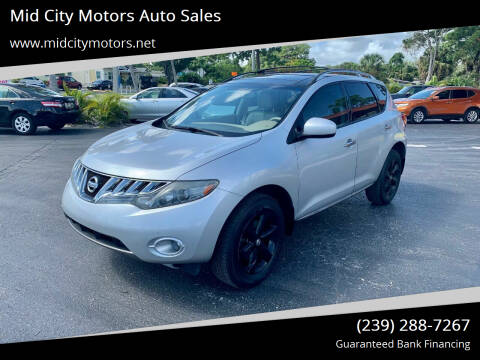 2009 Nissan Murano for sale at Mid City Motors Auto Sales in Fort Myers FL