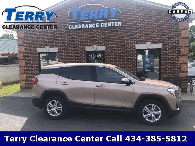 2018 GMC Terrain for sale at Terry Clearance Center in Lynchburg VA