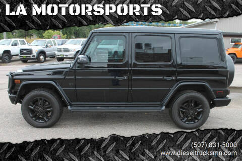 2014 Mercedes-Benz G-Class for sale at LA MOTORSPORTS in Windom MN