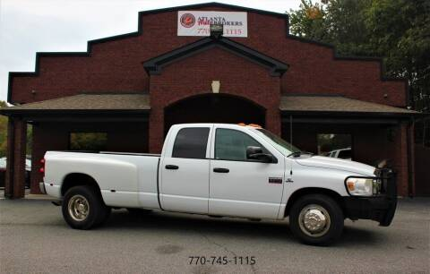 2008 Dodge Ram Pickup 3500 for sale at Atlanta Auto Brokers in Cartersville GA