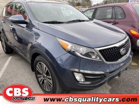 2014 Kia Sportage for sale at CBS Quality Cars in Durham NC