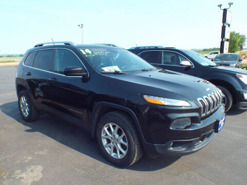 2014 Jeep Cherokee for sale at G & K Supreme in Canton SD