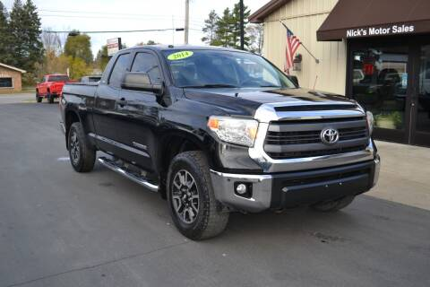 2014 Toyota Tundra for sale at Nick's Motor Sales LLC in Kalkaska MI
