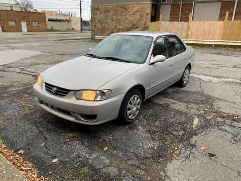 2001 Toyota Corolla for sale at USA AUTO WHOLESALE LLC in Cleveland OH