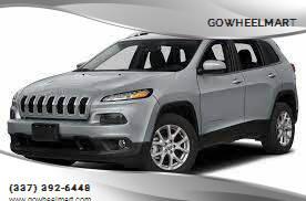 2014 Jeep Cherokee for sale at GOWHEELMART in Leesville LA