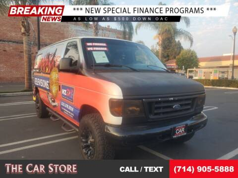 2007 Ford E-Series Cargo for sale at The Car Store in Santa Ana CA