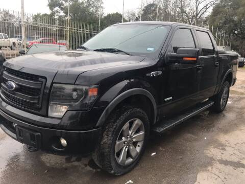 2013 Ford F-150 for sale at Texas Luxury Auto in Houston TX