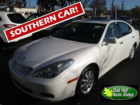 2003 Lexus ES 300 for sale at Oak Hill Auto Sales of Wooster, LLC in Wooster OH
