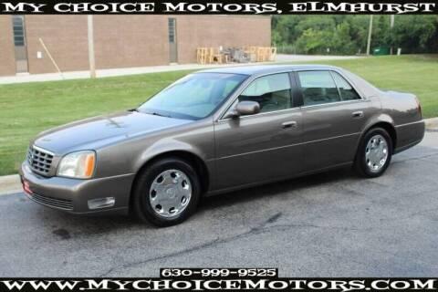 2002 Cadillac DeVille for sale at My Choice Motors Elmhurst in Elmhurst IL