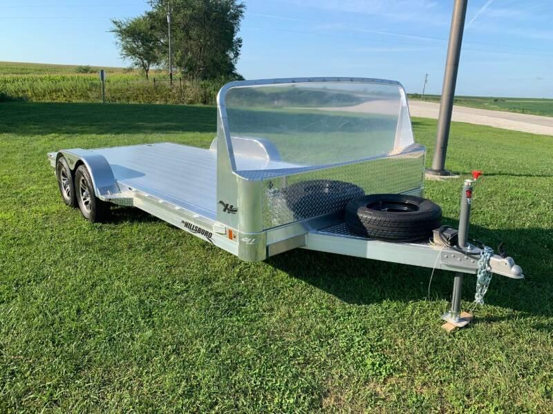 2020 Hillsboro Aluminum  Flatbed Car Hauler for sale at Schrier Auto Body & Restoration in Cumberland IA