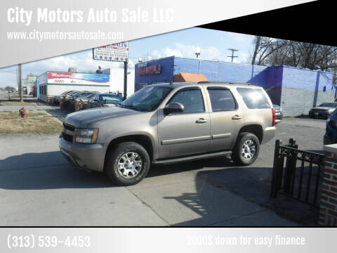 2007 Chevrolet Tahoe for sale at City Motors Auto Sale LLC in Redford MI