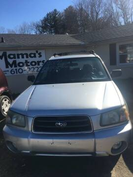 2004 Subaru Forester for sale at Mama's Motors in Greer SC