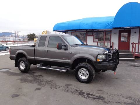 2004 Ford F-350 Super Duty for sale at Jim's Cars by Priced-Rite Auto Sales in Missoula MT