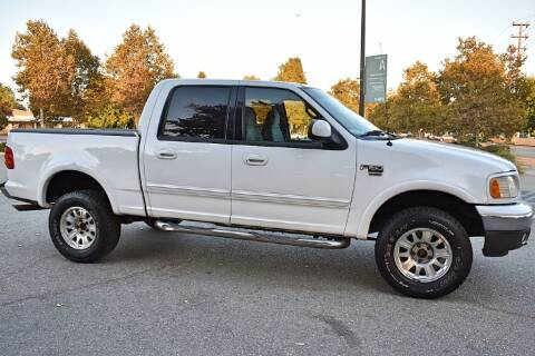 2001 Ford F-150 for sale at VCB INTERNATIONAL BUSINESS in Van Nuys CA