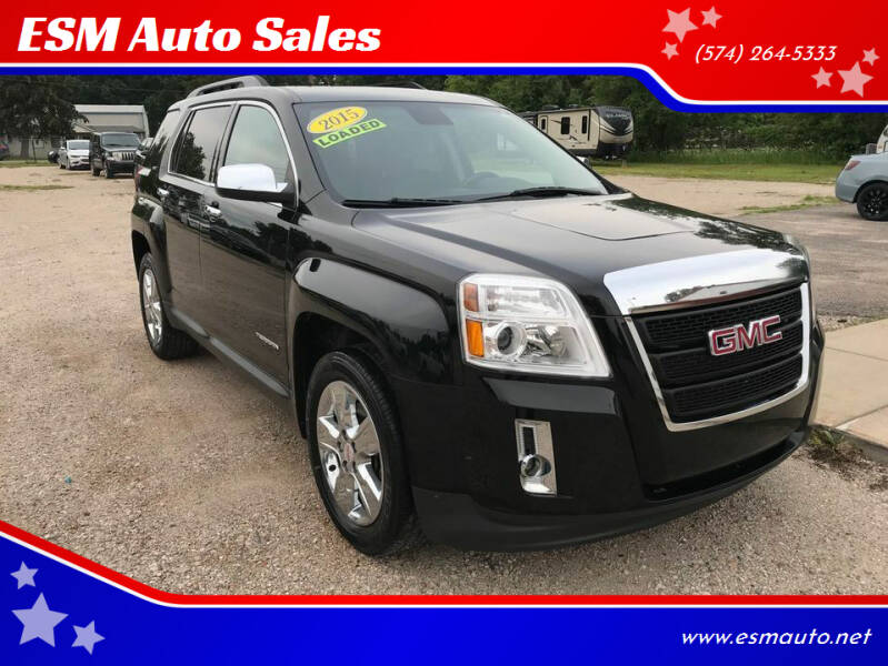 2015 GMC Terrain for sale at ESM Auto Sales in Elkhart IN