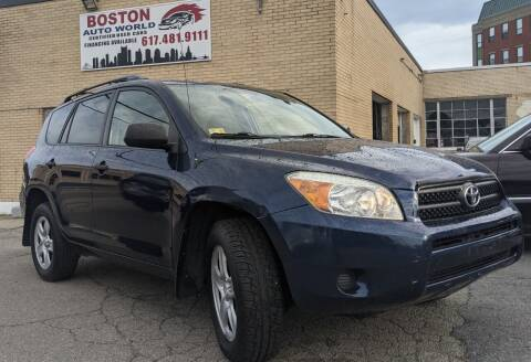 2007 Toyota RAV4 for sale at Boston Auto World in Quincy MA