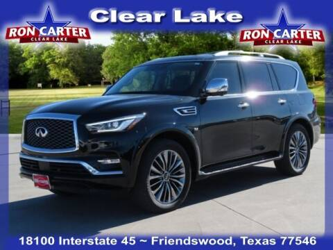 2019 Infiniti QX80 for sale at Ron Carter  Clear Lake Used Cars in Houston TX