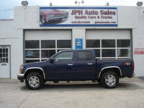 2012 GMC Canyon for sale at JPH Auto Sales in Eastlake OH