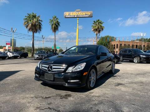 2012 Mercedes-Benz E-Class for sale at A MOTORS SALES AND FINANCE in San Antonio TX