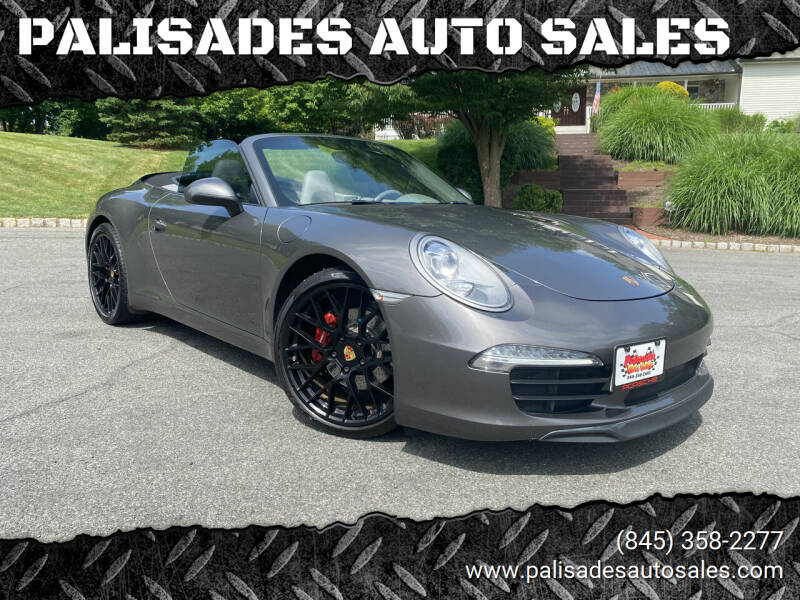 2013 Porsche 911 for sale at PALISADES AUTO SALES in Nyack NY