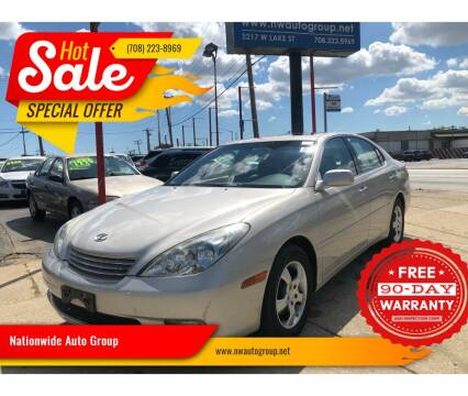 2002 Lexus ES 300 for sale at Nationwide Auto Group in Melrose Park IL