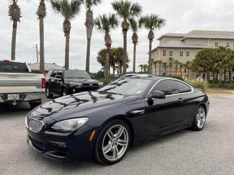 2012 BMW 6 Series for sale at Gulf Financial Solutions Inc DBA GFS Autos in Panama City Beach FL