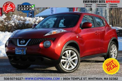 2011 Nissan JUKE for sale at Auto Sales Express in Whitman MA
