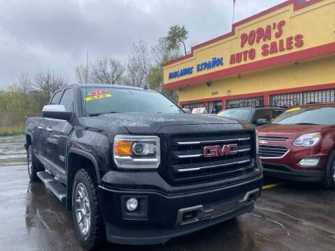 2014 GMC Sierra 1500 for sale at Popas Auto Sales in Detroit MI