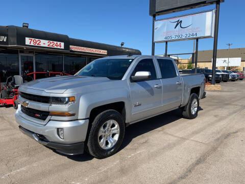 2018 Chevrolet Silverado 1500 for sale at NORRIS AUTO SALES in Oklahoma City OK