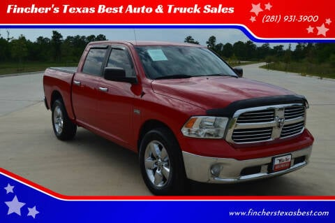 2015 RAM Ram Pickup 1500 for sale at Fincher's Texas Best Auto & Truck Sales in Tomball TX