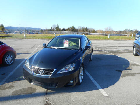 2013 Lexus IS 250 for sale at Willow Creek Auto Sales in Knoxville TN
