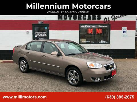 2007 Chevrolet Malibu for sale at Millennium Motorcars in Yorkville IL