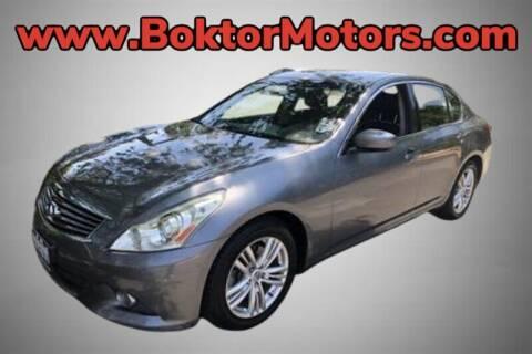 2012 Infiniti G37 Sedan for sale at Boktor Motors in North Hollywood CA