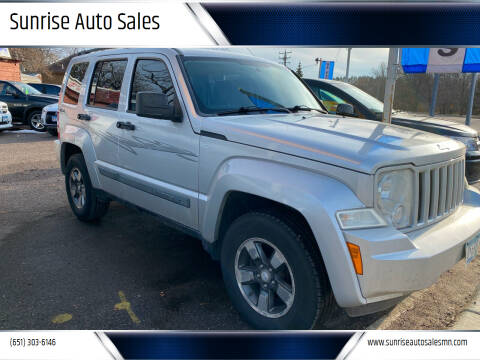 2008 Jeep Liberty for sale at Sunrise Auto Sales in Stacy MN