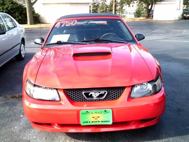 2003 Ford Mustang for sale at JIMS AUTO MART INC in Milwaukee WI