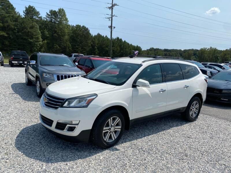 2015 Chevrolet Traverse for sale at Billy Ballew Motorsports in Dawsonville GA