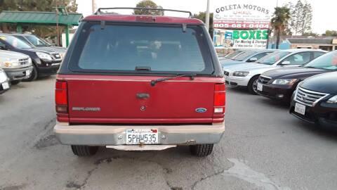 1993 Ford Explorer for sale at Goleta Motors in Goleta CA