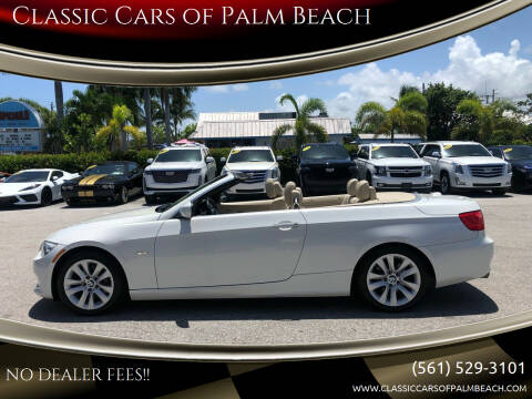 2013 BMW 3 Series for sale at Classic Cars of Palm Beach in Jupiter FL