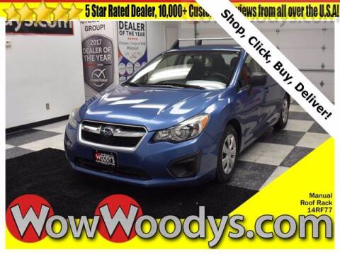 2014 Subaru Impreza for sale at WOODY'S AUTOMOTIVE GROUP in Chillicothe MO