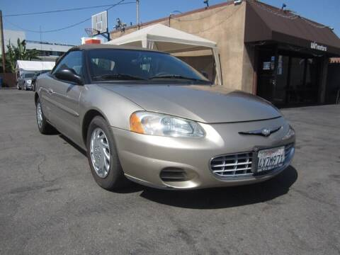 2003 Chrysler Sebring for sale at Win Motors Inc. in Los Angeles CA