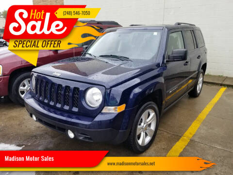 2013 Jeep Patriot for sale at Madison Motor Sales in Madison Heights MI