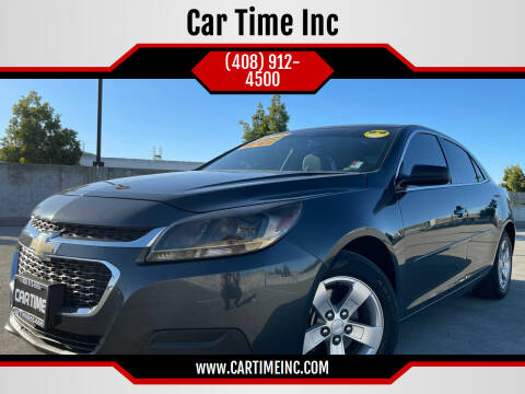 2014 Chevrolet Malibu for sale at Car Time Inc in San Jose CA