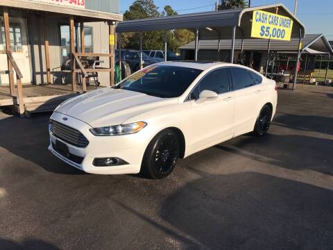 2014 Ford Fusion for sale at Texas 1 Auto Finance in Kemah TX